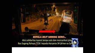 Video Patut dicontoh! Duel sportif  Bus Sugeng Rahayu feat Po Haryanto MP3, 3GP, MP4, WEBM, AVI, FLV Mei 2019
