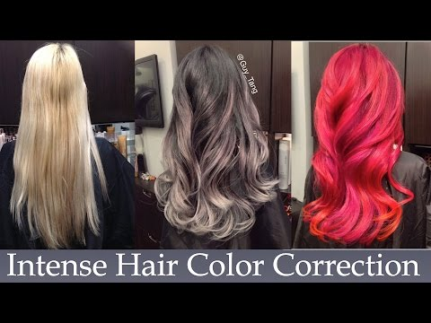 Intense Hair Color Correction