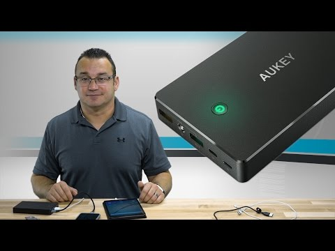 AUKEY 20000mAh Quick Charge 3.0 Portable Charger