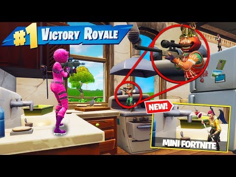 *NEW* SHRUNK PLAYERS In Fortnite Custom Gamemode! - Thời lượng: 10 phút.