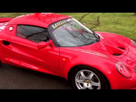 Lotus Elise 111S S1 - Excellent condition! - See www.shmooautomotive.co.uk - FOR SALE