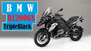 6. BMW R1200GS TripleBlack, revealed, is the best-looking GS zie Germans have created