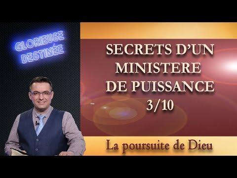 Franck ALEXANDRE - Glorieuse Destinée : Secrets d'un ministère de puissance - La poursuite de Dieu