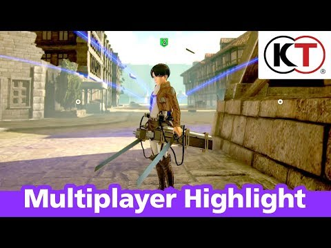 Attack On Titan 2 - Trailer des modes multijoueurs - Gameplay de A.O.T. 2