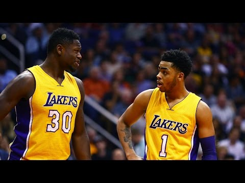 Video: Time to Schein: D'Angelo Russell and Julius Randle are 'Scheining' stars
