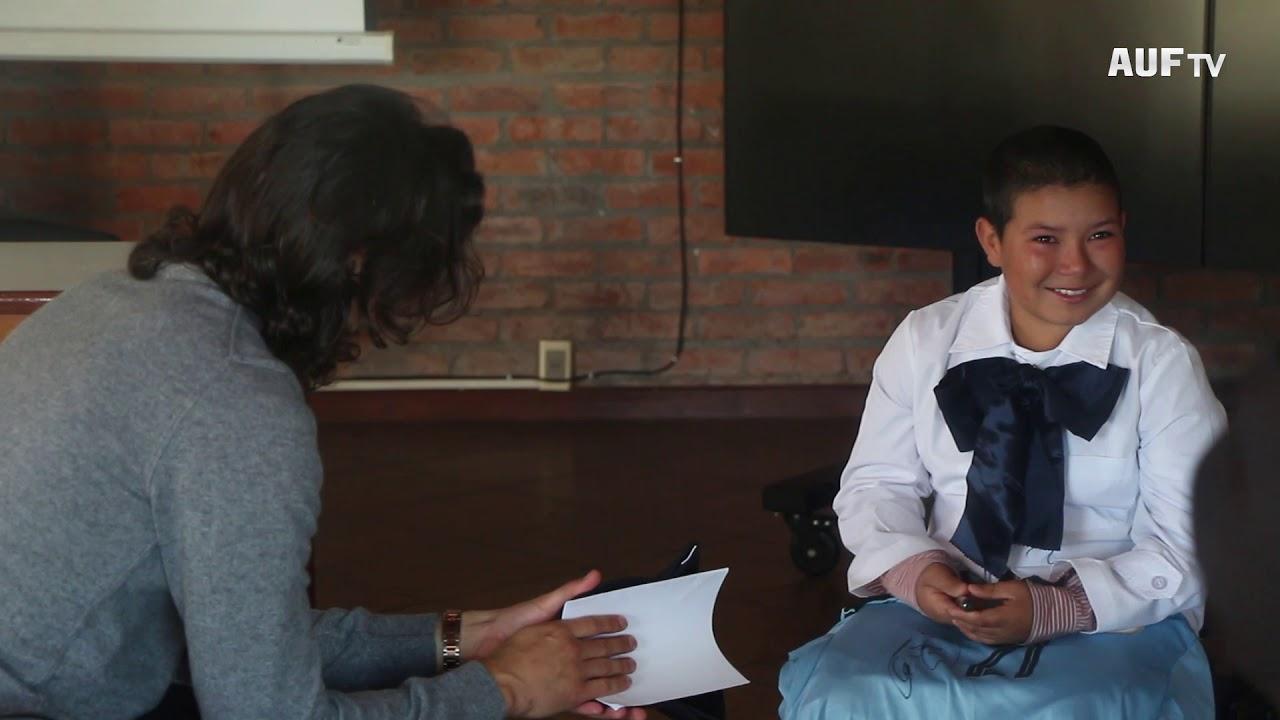 El ganador de Un Cuento Celeste conoció a Edinson Cavani