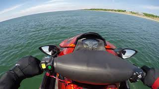 8. Riding around Port Sheldon - Kawasaki Ultra 310x SE