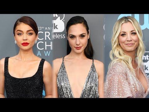 7 BEST Dressed Celebs At 2018 Critics' Choice Awards