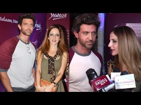 Video Hrithik Roshan With His Ex-Wife Sussanne Khan At Salaam, Noni Appa Play Preview download in MP3, 3GP, MP4, WEBM, AVI, FLV January 2017