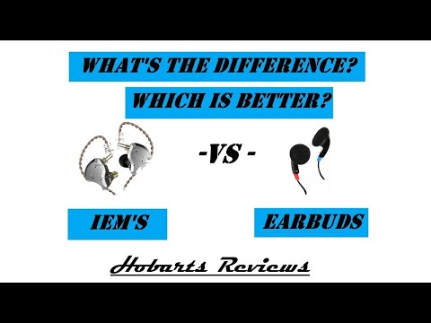 IEM's vs Earbuds | What's The Difference? |  I Explain...
