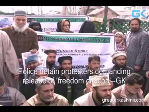 Police detain protesters demanding release of 'freedom chacha'