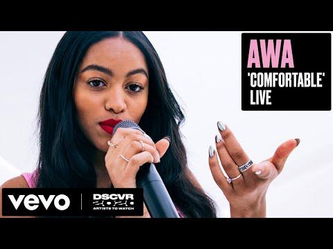 AWA - Comfortable (Live) | Vevo DSCVR Artists to Watch 2020