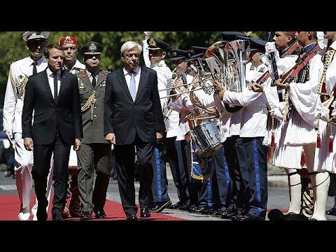 Μακρόν: «H Γαλλία θα στέκεται πάντα στο πλευρό της Ελλάδας»