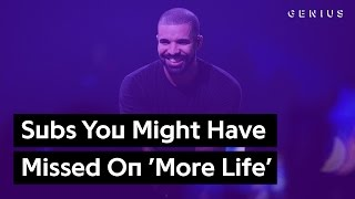 Disses You Might Have Missed On Drake's 'More Life' | Genius News
