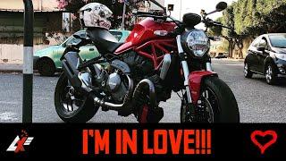 10. My new 2018 Ducati Monster 1200 (RAW SOUND)