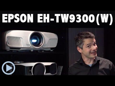 EPSON EH TW9300 und TW9300W - neue 4K E-Shift Beamer im Test.