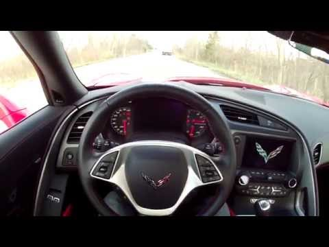 chevrolet corvette c7 stingray test drive