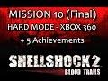 Shellshock 2 Xbox 360 Hard Playthrough Level 10 5 Achie