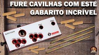 Furações para Cavilhas - Gabarito Bloco Flauta Zinni