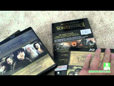 0 Unboxing LOTR: EE Blu Ray & Green Tint Issue