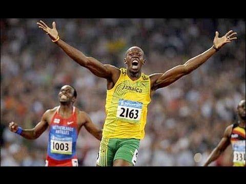 Wie schnell kann Usain Bolt rennen?
