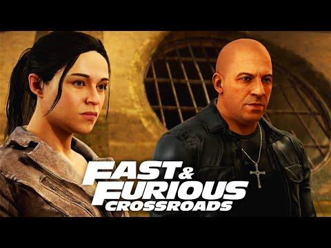 FAST & FURIOUS CROSSROADS All Cutscenes (Game Movie) 1080p 60FPS HD
