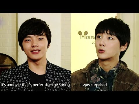 ENTERTAINMENT - Guerilla Date with 4MINUTE - Interview with Yeo Jingoo & Yoon Siyoon, the leads of