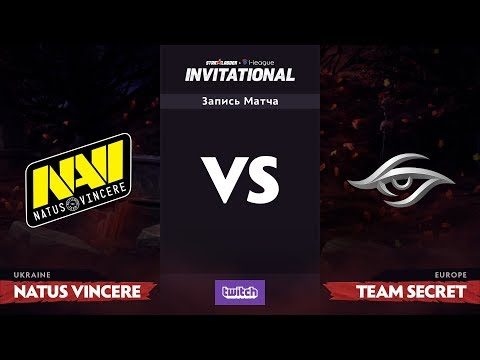 Группа Б, Natus Vincere против Team Secret, SL i-League Invitational S3