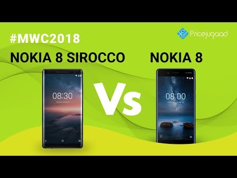 Nokia 8 Sirocco vs Nokia 8: What are the Differences and Similarities? | Price | Comparison | Specs