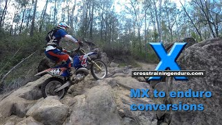 6. MOTOCROSS TO ENDURO/GNCC/WOODS CONVERSION TIPS: Yamaha YZ250