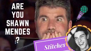 Video Best Shawn Mendes Stitches in audition  || Mind Blowing MP3, 3GP, MP4, WEBM, AVI, FLV Mei 2018