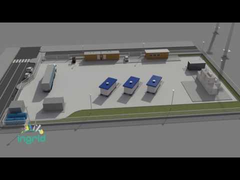 Anteprima del video INGRID, a Troia (FG) l'impianto dimostratore per l'accumulo di energia a idrogeno solido