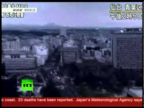 japan earthquake today - Follow latest updates at http://twitter.com/rt_com and http://www.facebook.com/RTnews North-east Japan has been swamped by a major tsunami - and the entire P...