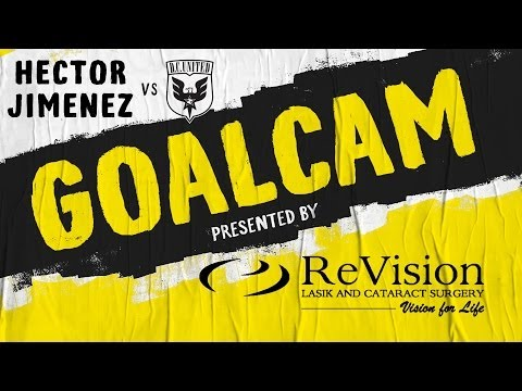 Video: GoalCam presented by ReVision: Hector Jimenez vs D.C. United