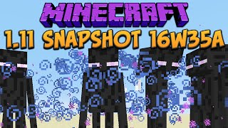 Minecraft 1.11 Snapshot 16w35a Shields Boosted & Water Potions Buffed