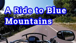 6. Riding Vulcan 900 Classic to Blue Mountains in Ontario