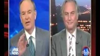 Bill O'Reilly COWERS IN FEAR before Richard Dawkins