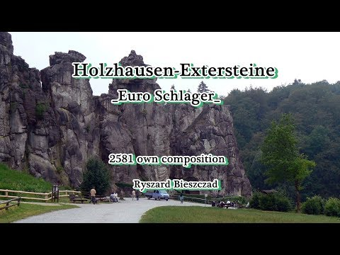 Holzhausen Externsteine - Germany -  EuroSchlager -  2581 own composition