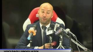 INTERVISTA CRISTIAN BUCCHI DOPO GARA PERUGIA-SALERNITANA