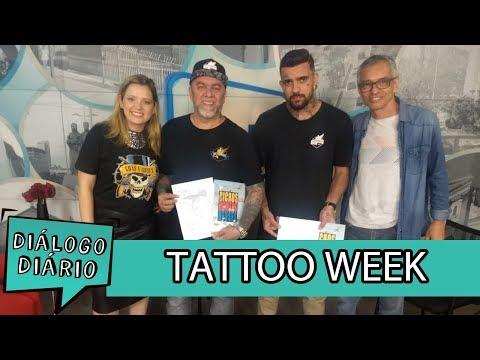 Diálogo Diário recebe Enio e Brunno Conte, da Tattoo Week