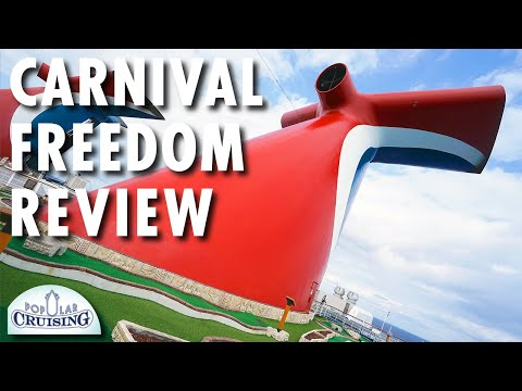 Tour of the Carnival Freedom