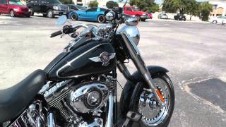 9. 026752 - 2012 Harley Davidson Softail Fat Boy FLSTF - Used Motorcycle For Sale