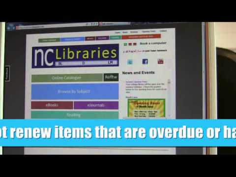 Library induction video