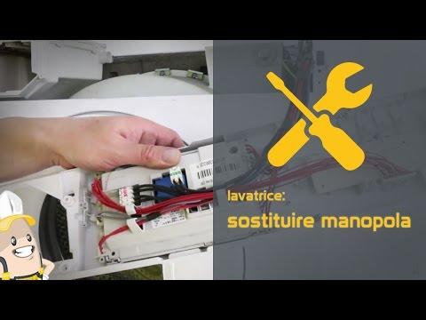 Come sostituire la manopola della lavatrice