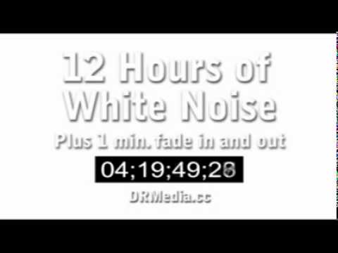 white - 12 hours of white noise (static) with one minute fade-in and one minute fade-out. Left and right channels are completely independent. White noise has a multi...
