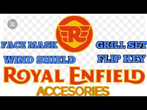 Royal Enfield Accessories | Wind Shield | Grill Set | Face Mask | Flip Key