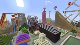 Minecraft Xbox - Happy Land Tour - Part 3