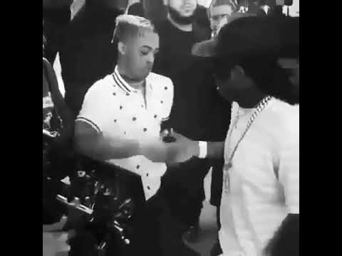 XXX and Skimask's ultimate handshake