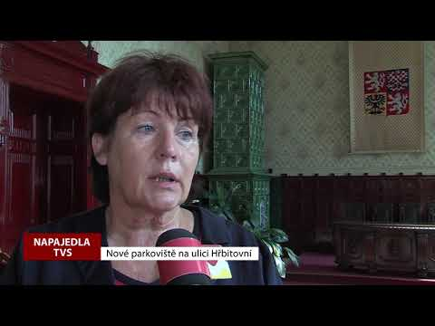 TVS: Napajedla - Nové parkoviště na ulici Hřbitovní