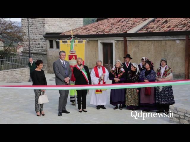 Revine Lago, 21/09/2016 -  Inaugurazione